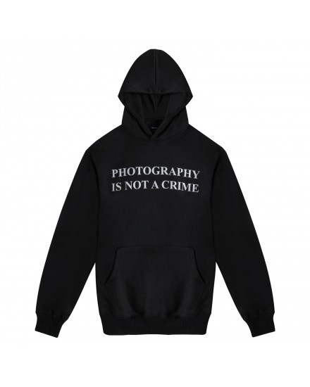 PHOTOGRAPHY IS NOT A CRIME UNTLD HOODIE