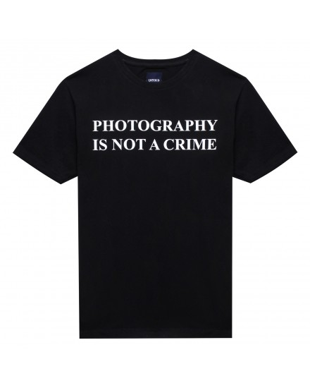 PHOTOGRAPHY IS NOT A CRIME UNTLD T-SHIRT