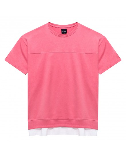 SIDE ZIPPER OVERSIZE UNTOLD T-SHIRT