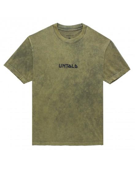 UNTOLD METAL FONT T-SHIRT