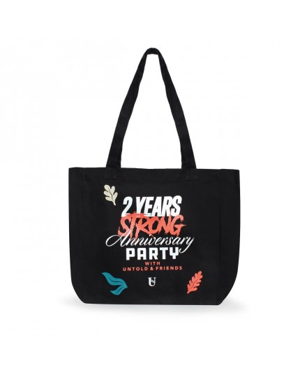 UNTOLD SECOND ANNIVERSARY TOTE BAG