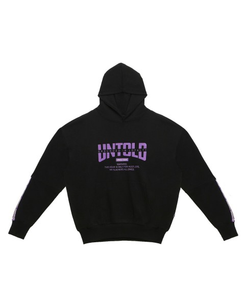 UNTOLD LINE PATCH HOODIE