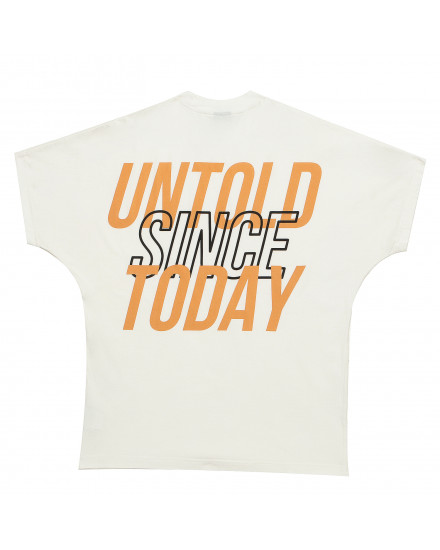 UNTOLD SINCE TODAY BACK T-SHIRT