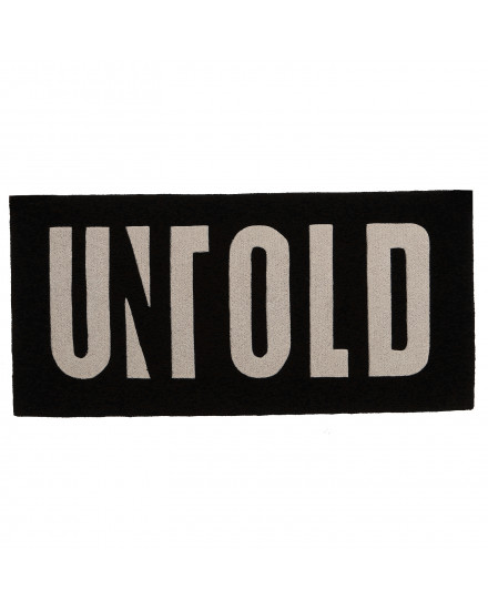 UNTOLD LOGO BOX CARPET