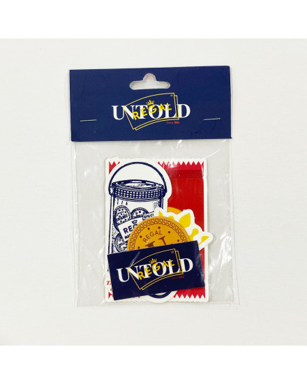 UNTOLD STICKER PACK