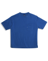 U LOGO POCKET TEE ROYAL BLUE