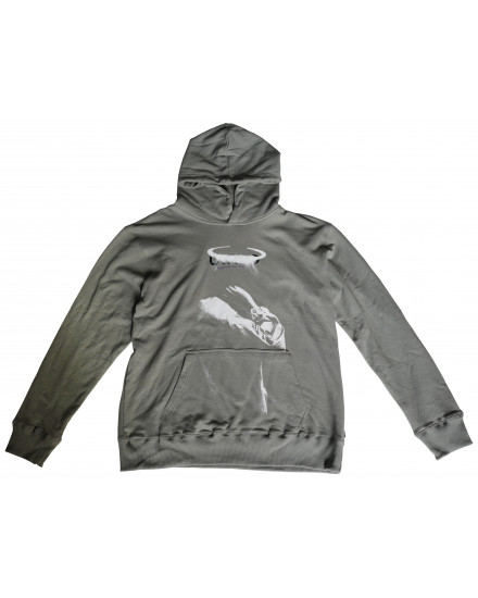 FAITH OVER FEAR GREY HOODIE