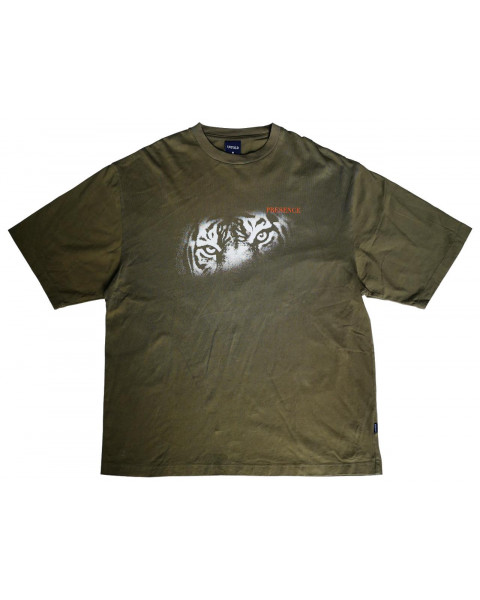 COUNT YOUR BLESSING OLIVE TEE