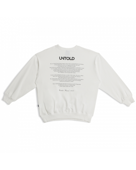 CLOUD SWEATSHIRT OFFWHITE