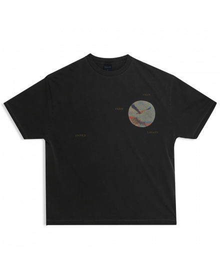 EAGLE PAINT REGULAR TEE CHARCOAL
