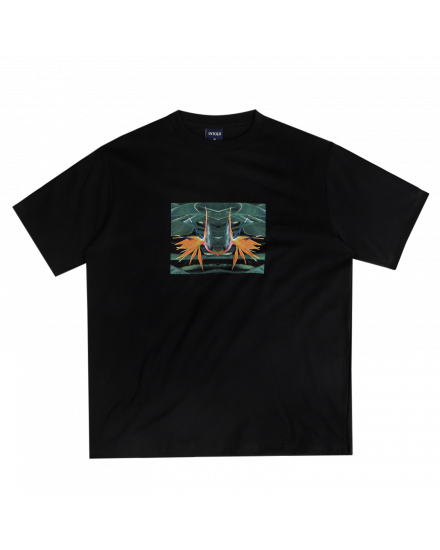 MIRROR BASIC TEE BLACK