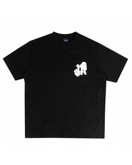 LA HANDS BASIC TEE BLACK