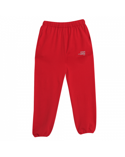 JOURNEY JOGGER PANTS RED