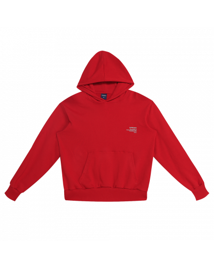 JOURNEY HOODIE RED