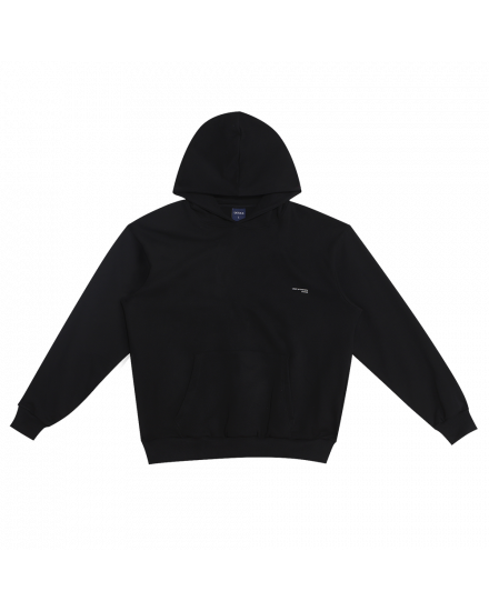 LIGHT FACE HOODIE - BLACK
