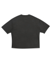 LIGHT FACE BOXY TEE CHARCOAL