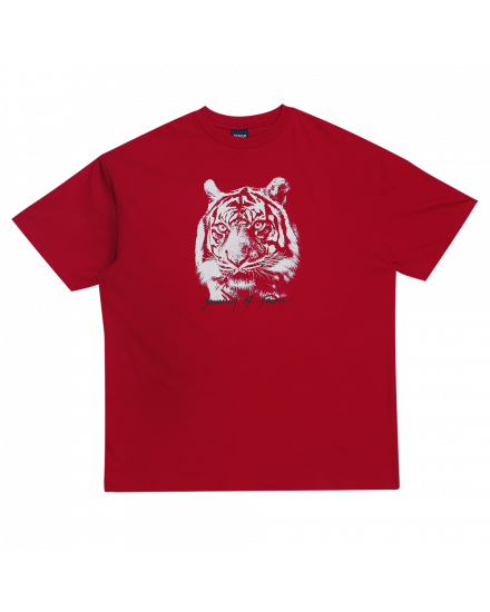 TIGER FACE REGULAR TEE RED
