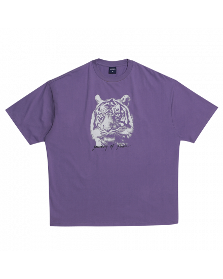 TIGER FACE REGULAR TEE PURPLE