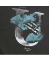 U CLOUD REGULAR TEE CHARCOAL