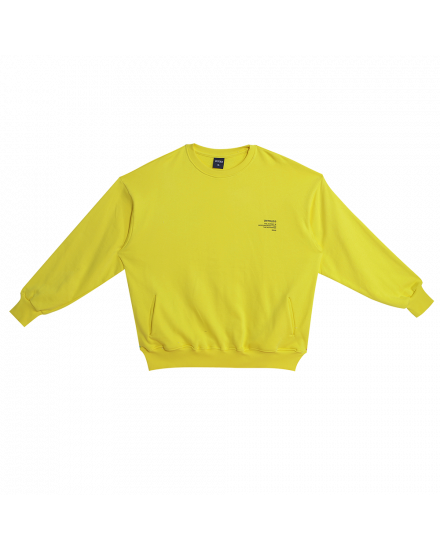 JOURNEY SWEATSHIRT YELLOW