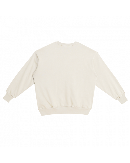 OURNEY SWEATSHIRT DUSTY WHITE