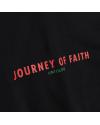 JOURNEY OF FAITH ZIP HOODIE BLACK