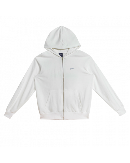 JOURNEY OF FAITH ZIP HOODIE WHITE