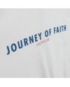 JOURNEY OF FAITH ZIP HOODIE WHITE